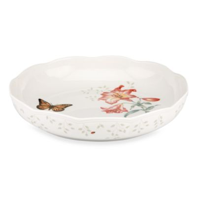 Lenox® Butterfly Meadow® Low Serving Bowl