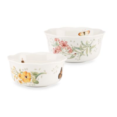 Lenox® Butterfly Meadow® Nesting Bowl (Set of 2)