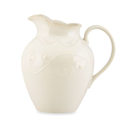 Lenox® French Perle White 7 5/8-Inch Medium Pitcher