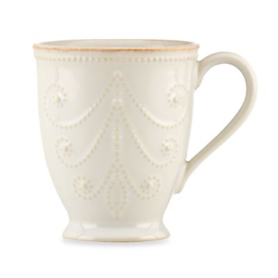 Lenox® French Perle White 10-Ounce Mug