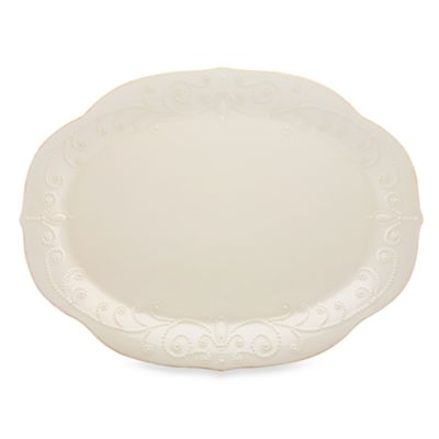White French Stoneware Platters
