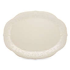 Lenox® French Perle 16-Inch Oval Platter in White