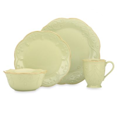 Lenox® French Perle 4-Piece Place Setting in Pistachio