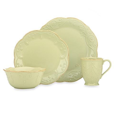 Lenox® French Perle Dinnerware Collection in Pistachio