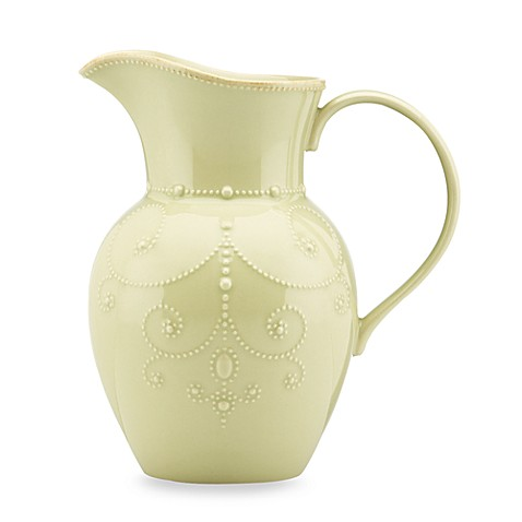 Lenox® French Perle 9-3/4 Inch Large Pitcher in Pistachio