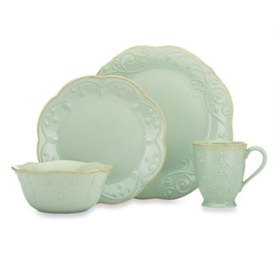 Lenox® French Perle 4-Piece Place Setting in Ice Blue
