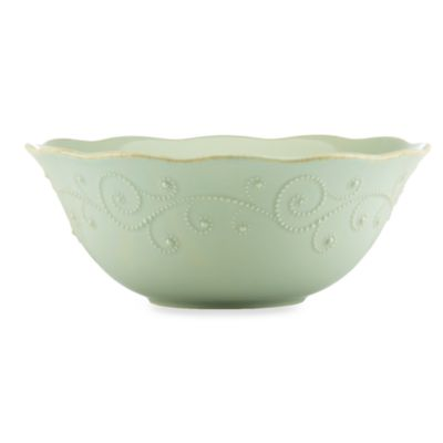 Lenox® French Perle Serving Bowl in Ice Blue