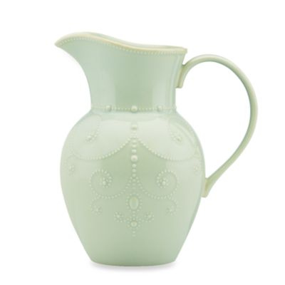 Lenox® French Perle 9.75-Inch Large Pitcher in Ice Blue