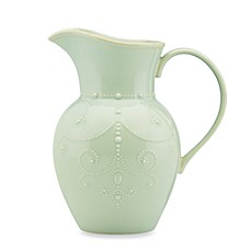 Lenox® French Perle Large Pitcher in Ice Blue