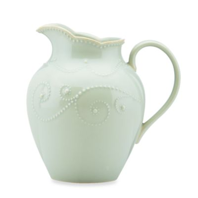 Lenox® French Perle 7.62-Inch Medium Pitcher in Ice Blue