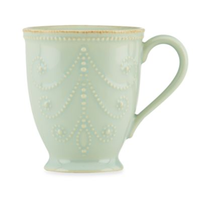 Lenox® French Perle 20-Ounce Mug in Ice Blue