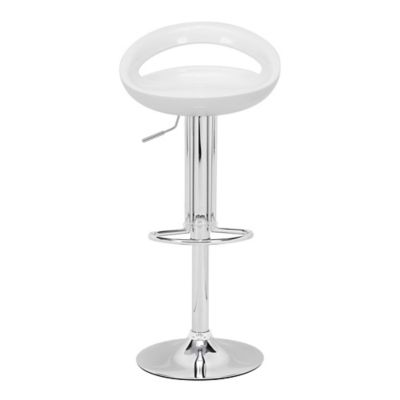 Zuo Modern Tickle Barstool in White
