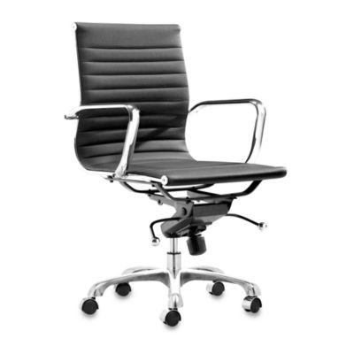 Zuo Modern Lider Office Chair in Black