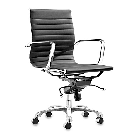 zuo modern lider office chair in black is not available for sale