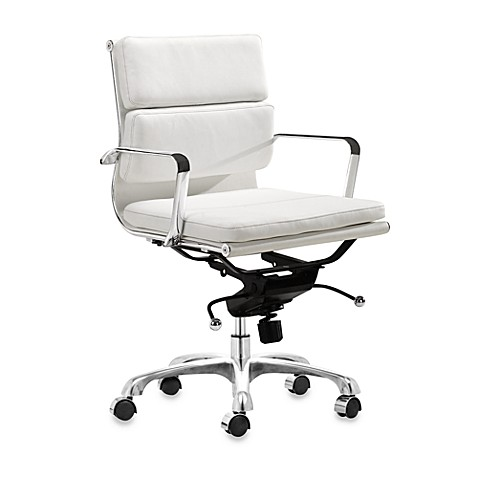 zuo modern director office chair white bed bath beyond. Black Bedroom Furniture Sets. Home Design Ideas