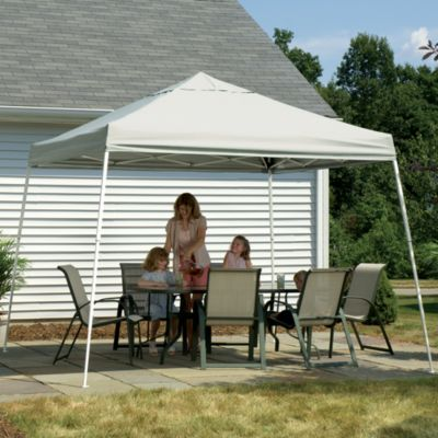 ShelterLogic® Sport Series 12-Foot x 12-Foot Slant Leg Canopy in Black