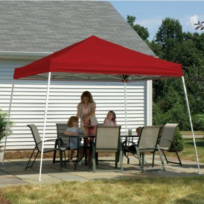 ShelterLogic® Sport Series 12-Foot x 12-Foot Slant Leg Canopy in Red