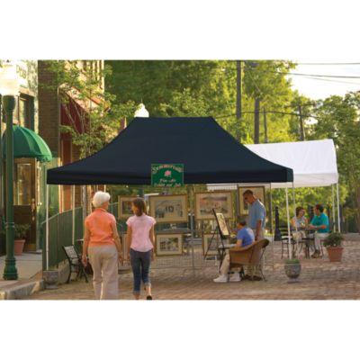 ShelterLogic® Pro Series 10-Foot x 15-Foot Straight Leg Canopy in Black
