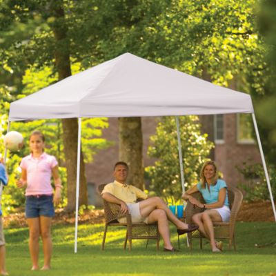 ShelterLogic® Sport Series 10-Foot x 10-Foot Slant Leg Canopy in White