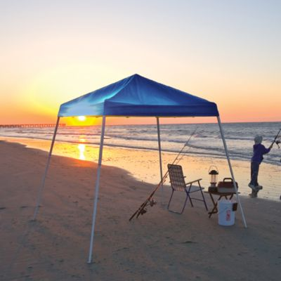 ShelterLogic Sports Series 8-Foot x 8-Foot Slant Leg Canopy in Blue