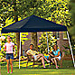 ShelterLogic® Sport Series 10-Foot x 10-Foot Slant Leg Canopy in Black
