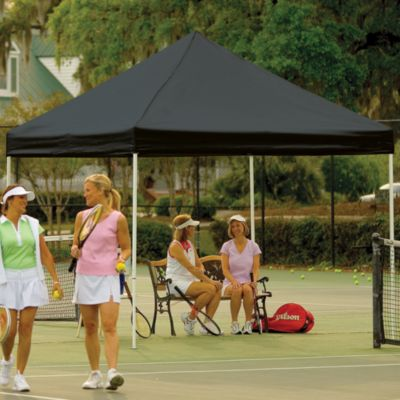 ShelterLogic® Pro Series 10-Foot x 10-Foot Straight Leg Canopy in Black