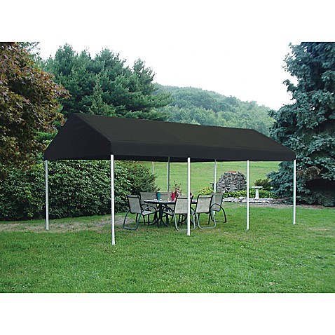 ShelterLogic® Decorative Series 10-Foot x 20-Foot Celebration II Canopy in Black
