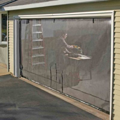 ShelterLogic® Quick Screen™ Double Garage Enclosure Kit in Model 29100