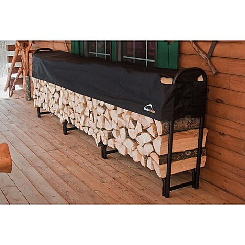 ShelterLogic® 12-Foot Covered Firewood Rack