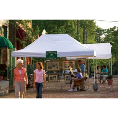 ShelterLogic® Pro Series Pro Series 10-Foot x 15-Foot Straight Leg Canopy in White