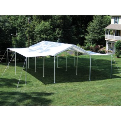 ShelterLogic® Max AP™ Canopy 10-Foot x 20-Foot 2-in-1 Pack Extension Kit in White