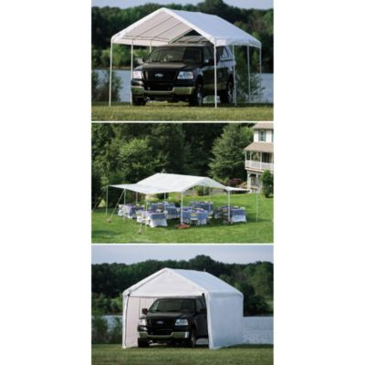 ShelterLogic® Max AP™ Canopy 10-Foot x 20-Foot 3-in-1 Pack in White