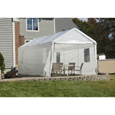 ShelterLogic® Clearview™ Enclosure Kit w/ Windows 10-Foot x 20-Foot