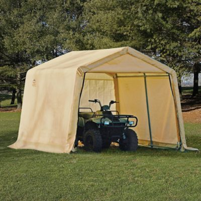 ShelterLogic® 10-Foot x 10-Foot x 8-Foot Shed-in-a-Box® in Tan