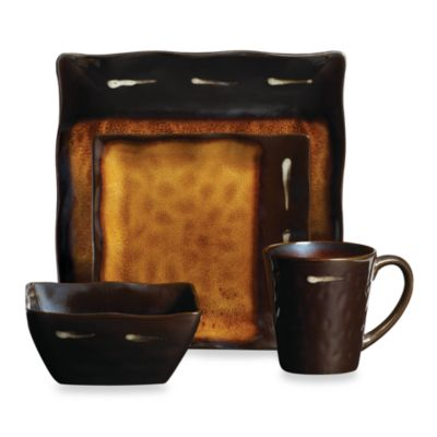 Gourmet Basics by Mikasa® Gallatin 16-Piece Dinnerware Set