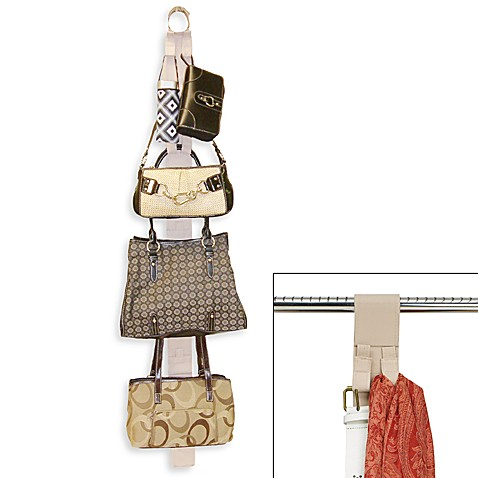 Handbag & Accessory Over-The-Rod Organizer