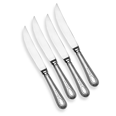 Towle Silversmiths 4-Piece Steak Knife Set