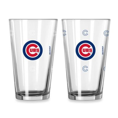 MLB Chicago Cubs Color Changing Pint Glasses (Set of 2)