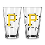MLB Pittsburgh Pirates Color Changing Pint Glasses (Set of 2)
