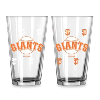 MLB San Francisco Giants Color Changing Pint Glasses (Set of 2)