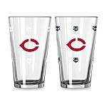 MLB Minnesota Twins Color Changing Pint Glasses (Set of 2)