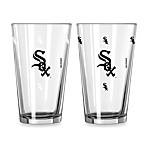 MLB Chicago White Sox Color Changing Pint Glasses (Set of 2)