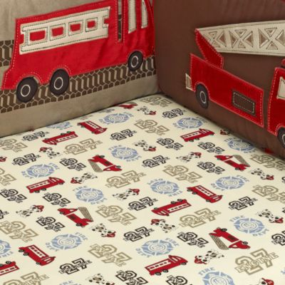NoJo® Engine 27 Fitted Crib Sheet
