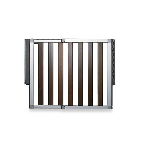 Buy Munchkin Loft Dark Wood Gate From Bed Bath Amp Beyond