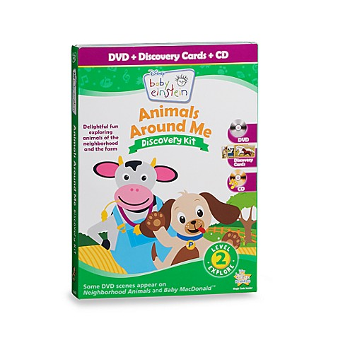 Baby Einstein Animals Around Me Discovery Kit