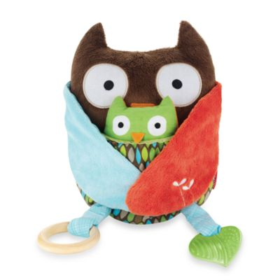 SKIP*HOP® Treetop Friends Hug & Hide™ Owl Activity Toy