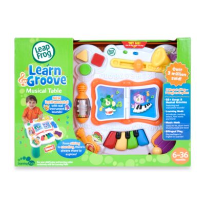 LeapFrog® Learn & Groove® Musical Table - from Leap Frog