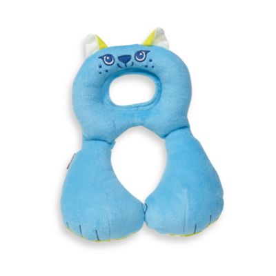 benbat™ Travel Friends Toddler Head Support in Blue Cat