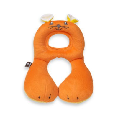 benbat™ Travel Friends Toddler Head Support in Orange Mouse