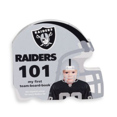 NFL Children's Board Book in Oakland Raiders 101
